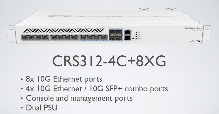 CRS312-4C+8XG